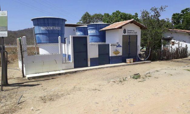 Água Doce: Quase metade dos dessalinizadores do Programa foi implantada no Ceará