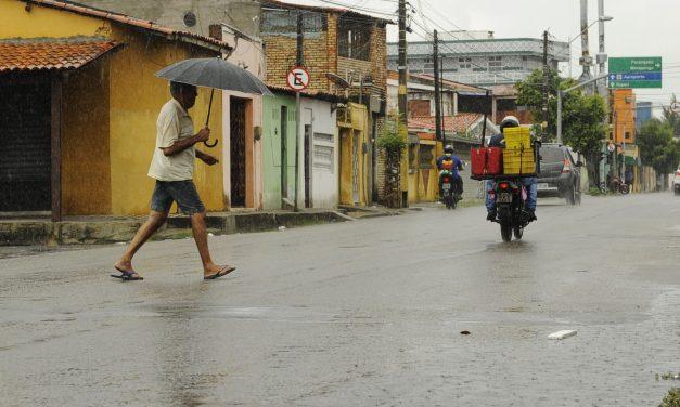 Ceará tem 45% de probabilidade de chuvas acima da média para o trimestre de março a abril