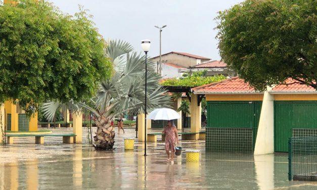Ceará registra chuvas em mais de 90 municípios em 24 horas