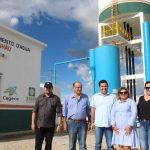 375 famílias de Alto Santo recebem água de novo sistema de abastecimento